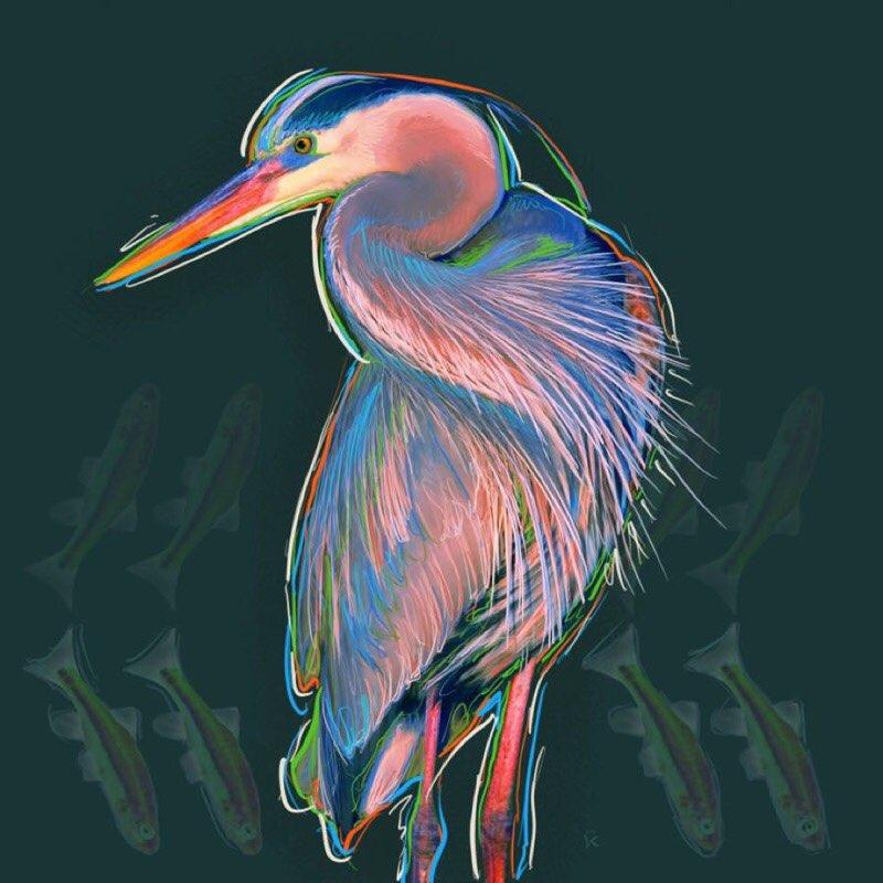 chesapeake bay wildlife art